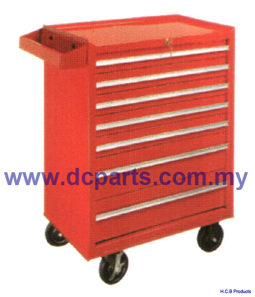 General Truck Repair Tools TOOL BOX,7 DRAWER ROLLER WAGON BALL BEARING SLIDE A2060